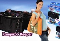 Край на безпорядъка! Вземете Kangaroo Keeper - комплект от 2 броя органайзери за дамска чанта от Магнифико! - Снимка