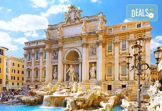 Самолетна екскурзия до Рим през юли с Дари Травел! 4 нощувки със закуски в хотел 2/3*, самолетен билет, такси, трансфери и водач - Снимка 2