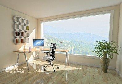 Двустранно измиване на прозорци, дограми и санитарни помещения до 120кв. метра от Клийн Хоум! Предплатете! - Снимка