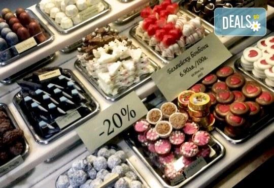 Истинската наслада за сетивата! 50 или 100 грама бонбони по Ваш избор от бутиковия магазин на Моменти в центъра на София! - Снимка 3