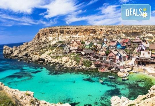Лятна почивка в слънчевата Малта! 7 нощувки със закуски в хотел 3*, самолетен билет, летищни такси и голям салонен багаж! - Снимка 1