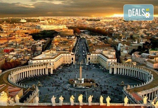 Екскурзия до Рим: 3 нощувки със закуски, самолетен билет, летищни такси, трансфери, водач