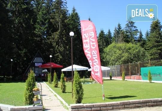 Активно лято в планината! Наем на тенис корт за 1 час или на комплект от 2 ракети с топки от Тенис клуб Боровец! - Снимка 6