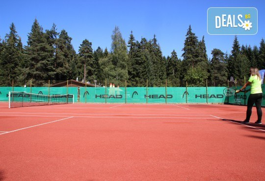 Активно лято в планината! Наем на тенис корт за 1 час или на комплект от 2 ракети с топки от Тенис клуб Боровец! - Снимка 4