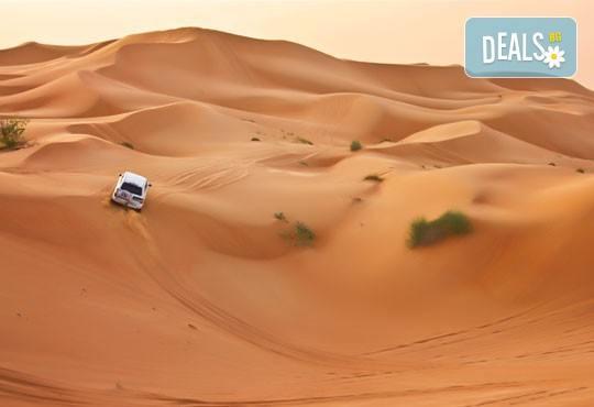 Екскурзия до Дубай през септември! 4 нощувки със закуски, самолетен билет, летищни такси, трансфери, обзорни обиколки, екскурзия до Абу Даби и сафари в пустинята! - Снимка 9