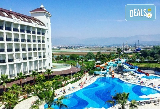 Почивка в Lake & River Side Hotel & Spa 5*, Сиде, през юни или юли! 7 нощувки на база Ultra All Inclusive, самолетен билет и летищни такси! - Снимка 1