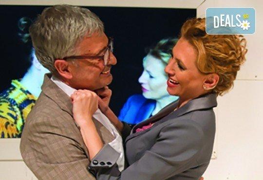 Лилия Маравиля и Стефания Колева в комедията 'Алонсо' на 12.06. от 19 ч. в Театър 'София'