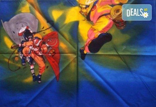 Зарадвайте детето си с предложението на Еса корпорация! Единичен комплект спално бельо Наруто или комплект с олекотена завивка и подарък втора калъфка - Снимка 3
