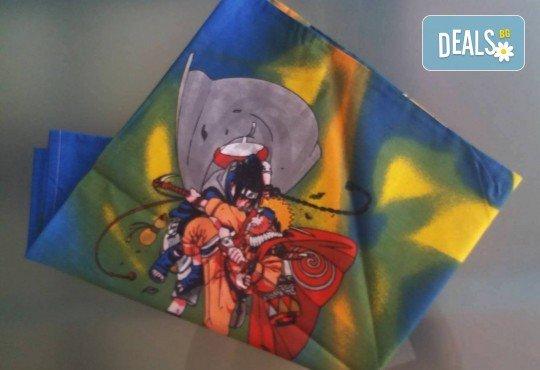 Зарадвайте детето си с предложението на Еса корпорация! Единичен комплект спално бельо Наруто или комплект с олекотена завивка и подарък втора калъфка - Снимка 4