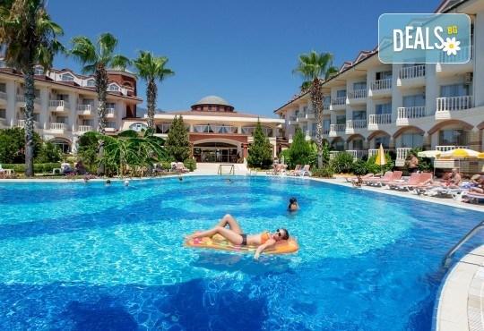 Почивка в Larissa Sultans Beach Hotel 4*, Кемер: 7 нощувки, All Incl, самолетни билети