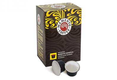 Ароматно кафе! Вземете капсули Memento® Espresso, Lavazza Blue®* Standard - 10 или 100 броя, от Café Memento! - Снимка