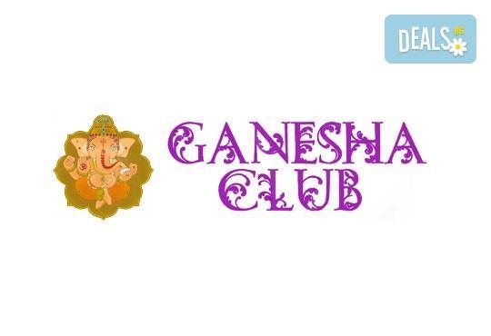 Кралски масаж с шампанско и ягоди на гръб, яка, ръце и длани за един или двама в Wellness Center Ganesha! - Снимка 4