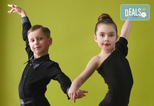 Слънчеви ритми! 1 посещение на латино танци за деца в Dance Center Fantasia! - Снимка 1