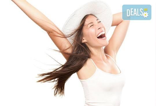 Отървете се от досадните косъмчета! Кола маска на цели ръце в козметичен център към Dance Center Fantasia! - Снимка 1