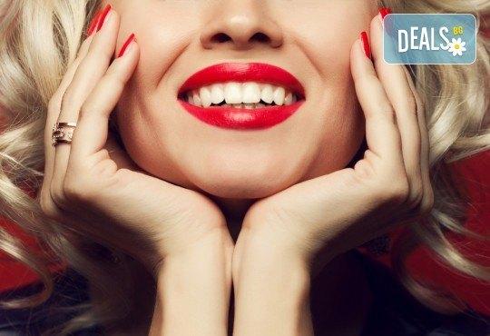 За здрава и красива усмивка! Почистване на зъбен камък и полиране с Air Flow в DentaLux! - Снимка 1