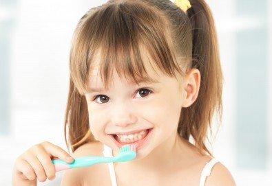 Поставяне на силант на постоянен детски зъб и обстоен преглед със снемане на зъбен статус в DentaLux! - Снимка
