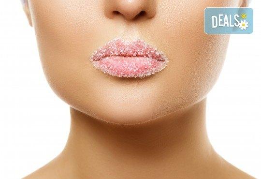 Уголемяване на устни със 100% хиалуронова киселина и ултразвук - 1 или 4 процедури, в салон за красота Теди! - Снимка 3