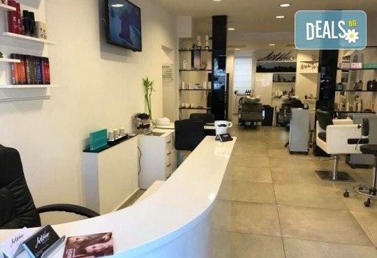 Масажно измиване с професионални продукти, подстригване и оформяне на прическа със сешоар в Art Hair Galerie! - Снимка 7