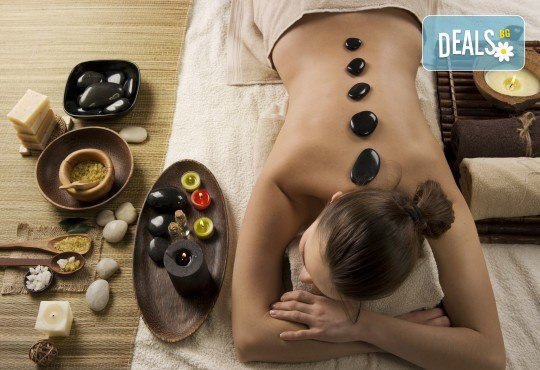 Грижа и релакс! Ароматерапевтичен масаж на цяло тяло с масло 100 билки и горещи вулканични камъни и йонна детоксикация в център GreenHealth! - Снимка 3