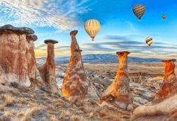 Екскурзия до Анкара, Кападокия, Истанбул и Одрин с Караджъ Турс! 4 нощувки със закуски, транспорт и посещение на соленото езеро Туз гьол! - Снимка