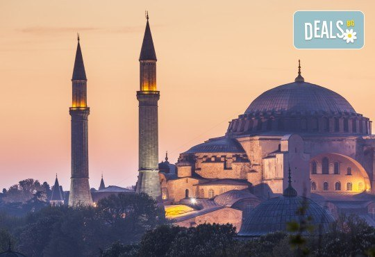 Лятна екскурзия до Истанбул, Турция: 2 нощувки със закуски, транспорт