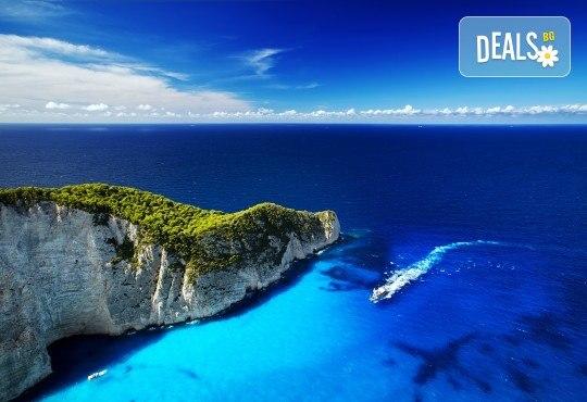 Септемврийски празници на о. Закинтос - перлата на Йонийско море! 3 нощувки със закуски в хотел 3*, транспорт и екскурзовод! - Снимка 1