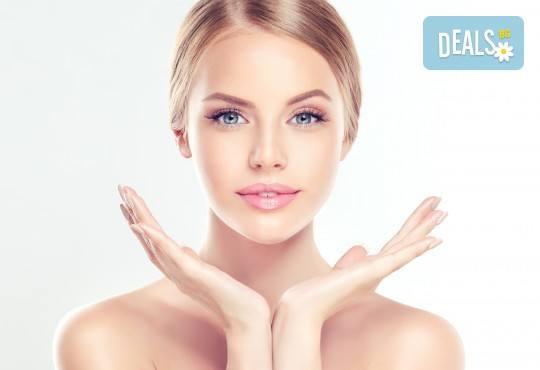 Микроиглена мезотерапия на лице с дермапен и геникс серум за подмладяване и нанасяне на кислородна маска в Изабел Дюпонт студио и магазин за красота! - Снимка 2