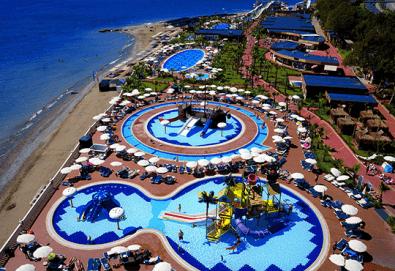 Почивка през септември в Eftalia Marin Resort 5*, Анталия - Алания, с BELPREGO Travel! 7 нощувки на база Ultra All Inclusive, възможност за транспорт - Снимка
