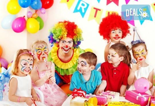 Рожден ден за до 10 деца - 3 часа наем на зала, рисунки на лица, аниматор и меню за всяко дете от Парти център замръзналото кралство - Люлин! - Снимка 2