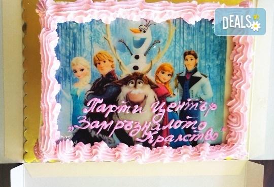 Рожден ден за до 10 деца - 3 часа наем на зала, рисунки на лица, аниматор и меню за всяко дете от Парти център замръзналото кралство - Люлин! - Снимка 14
