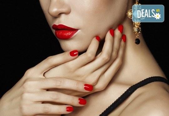 Класически маникюр с гел лак, Nail Salon Desire