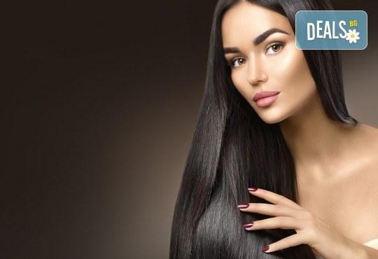 Нова прическа! Подстригване, терапия с масло от Амла, масажно измиване и прав сешоар в салон Diva! - Снимка 3