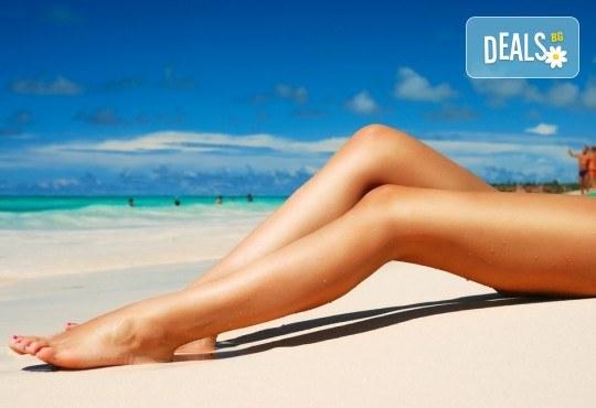 Подарете си съвършена кожа, без досадни косъмчета! Диодна лазерна епилация с гарантиран дълготраен ефект, за жени на зона по избор в NSB Beauty Center! - Снимка 1