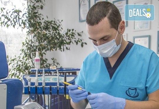 Красива усмивка! Почистване на зъбен камък с ултразвуков скалер в дентален кабинет д-р Чорбаджаков - жк Дружба - Снимка 1
