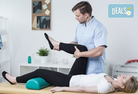 70-минутен лечебен масаж при травматични, ортопедични, неврологични, ставни заболявания и преглед от професионален физиотерапевт в студио Samadhi - Снимка 1