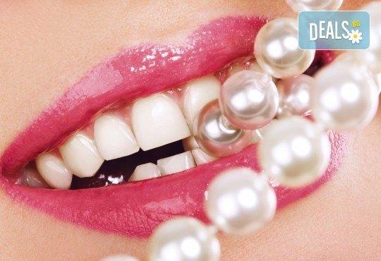 За красиви и бели зъби! Профилактичен преглед от специалист, почистване на зъбен камък и полиране с Air flow от VPDent, в центъра на София! - Снимка 4