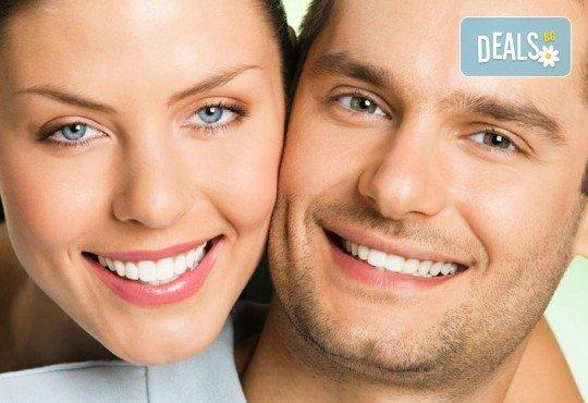 За красиви и бели зъби! Профилактичен преглед от специалист, почистване на зъбен камък и полиране с Air flow от VPDent, в центъра на София! - Снимка 3