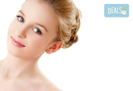Мануално почистване на лице с професионална медицинска козметика в MNJ Studio - Люлин! - Снимка 3