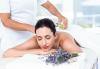 Релаксиращ или тонизиращ масаж на цяло тяло с масла от лавандула и ментол + хидромасажна вана за стъпала с лавандулови соли в Senses Massage & Recreation! - thumb 1