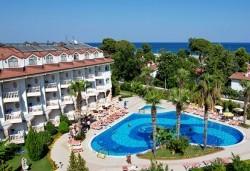 Last minute! Почивка в Кемер, Турция - 7 нощувки All Inclusive в хотел Larissa Sultan's Beach Hotel 4*, директен чартърен полет, летищни такси, багаж, трансфери - Снимка
