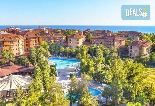 Last minute! Почивка в Сиде, Турция - 7 нощувки All Inclusive в хотел Larissa Stone Palace Hotel 5*, директен чартърен полет, летищни такси, багаж, трансфери - Снимка 2