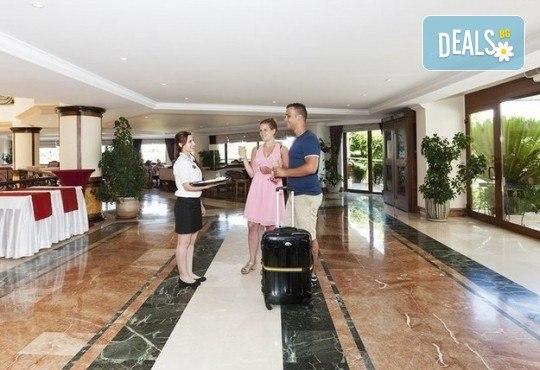 Last minute! Почивка в Сиде, Турция - 7 нощувки All Inclusive в хотел Larissa Stone Palace Hotel 5*, директен чартърен полет, летищни такси, багаж, трансфери - Снимка 3