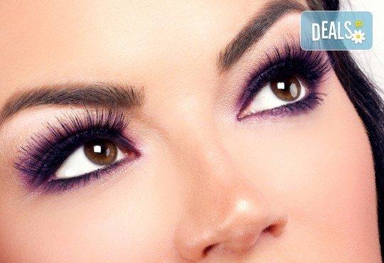Пленяващ поглед! Удължаване и сгъставяне на мигли от 3D до 6D с косъм от норка от студио за красота Jessica! - Снимка 2