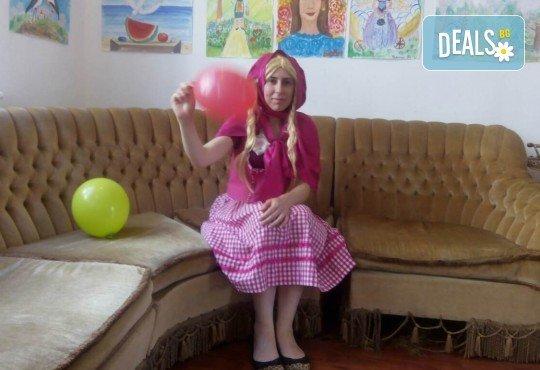Детско парти на адрес по Ваш избор с аниматор, безброй игри, украса, рисунки на лица и ръце, детска пинята с бонбони и подарък за всеки участник от Парти Арт 91! - Снимка 3
