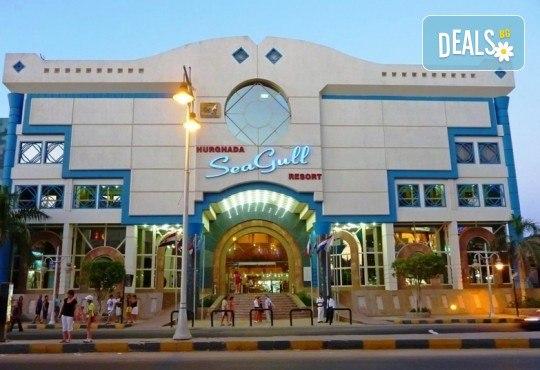 Почивка в Египет през есента! 7 нощувки на база All Inclusive в Seagull Beach Resort 4*+ в Хургада, самолетен билет, летищни такси и трансфери - Снимка 15
