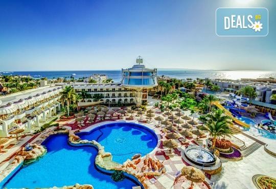 Почивка в Египет през есента! 7 нощувки на база All Inclusive в Seagull Beach Resort 4*+ в Хургада, самолетен билет, летищни такси и трансфери - Снимка 1
