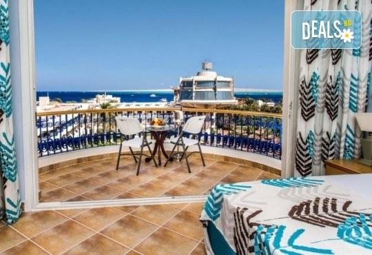 Почивка в Египет през есента! 7 нощувки на база All Inclusive в Seagull Beach Resort 4*+ в Хургада, самолетен билет, летищни такси и трансфери - Снимка 18