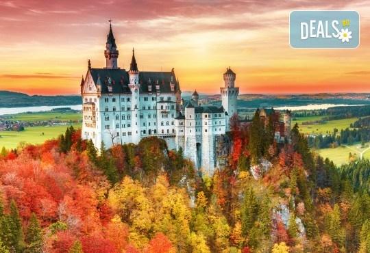 Септември до Баварските замъци и Блед: 5 нощувки със закуски, транспорт и богата програма