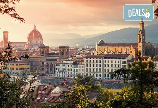 Италиански Ренесанс: Флоренция, Болоня, Венеция, 4 нощувки със закуски, транспорт