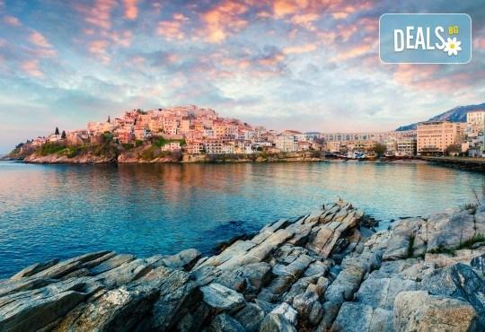 Еднодневна екскурзия за плаж в Гърция - Керамоти! Транспорт, програма в Кавала и възможност за посещение на о. Тасос - Снимка 2